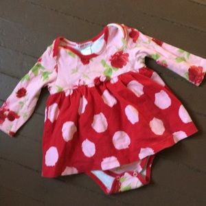 Baby Nay onesie dress